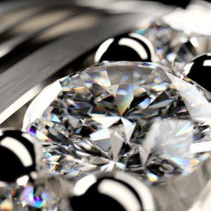 Diamond with dispersion