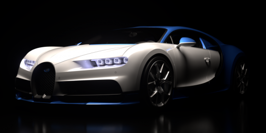 Chiron, white & blue.