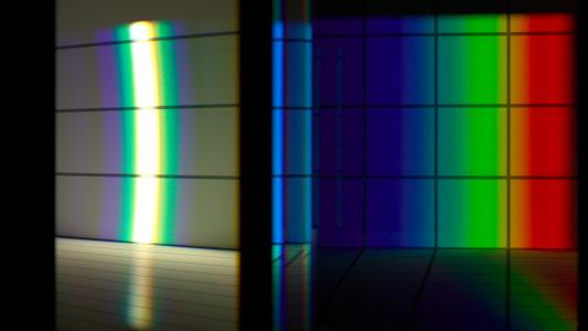 Un-dispersion of dispersion, laser's eye view.